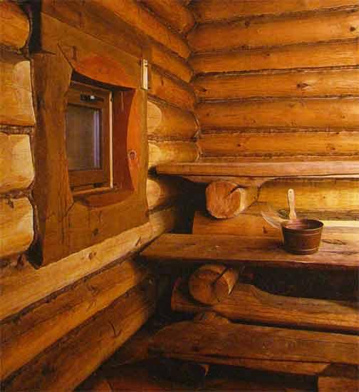 Интерьер в деревянных домах.фото