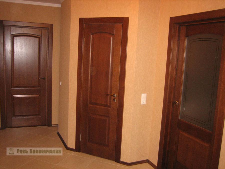 Двери из массива дуба - Межкомнатные двери Альверо