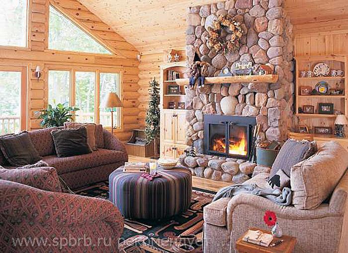 Интерьеры гостиных в загородных домах фото