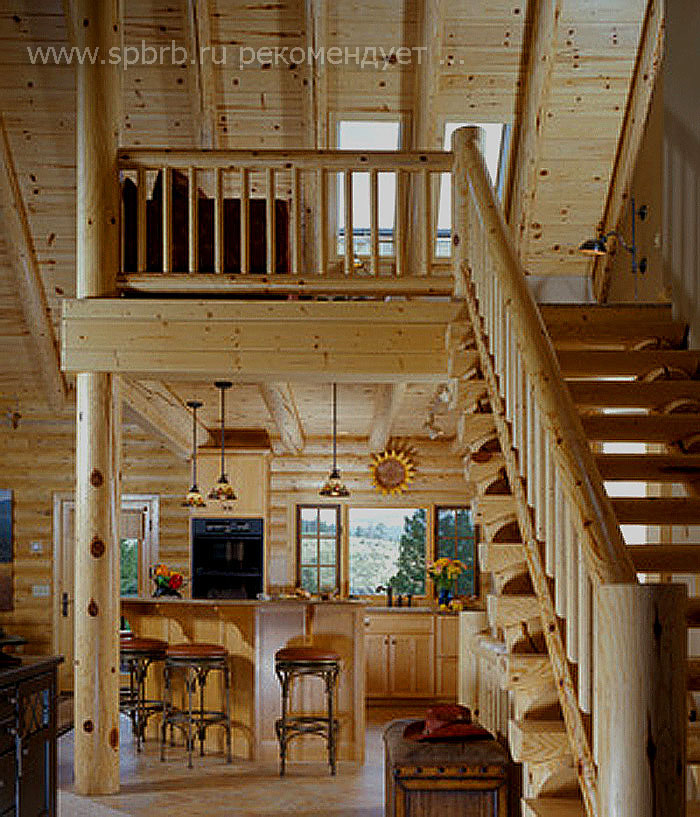 Перейти ко 4 части нашей фото интересных интерьеров кухни в деревянном