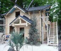Деревянный дом ручной рубки - город Сочи, Краснодарский край