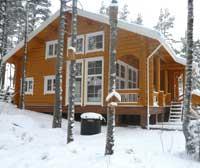Просторный деревянный дом 212 кв.м