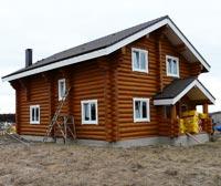 Новинка 2014 года - красивый рубленый дом 186 кв.м