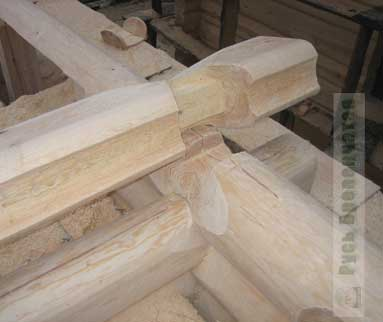 The Canadian bowl: a dowel and notch