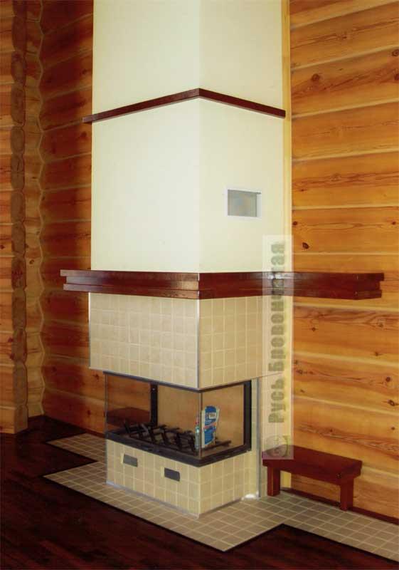 Кухня в деревянном доме своими руками