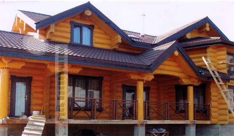 Цвета деревянных домов