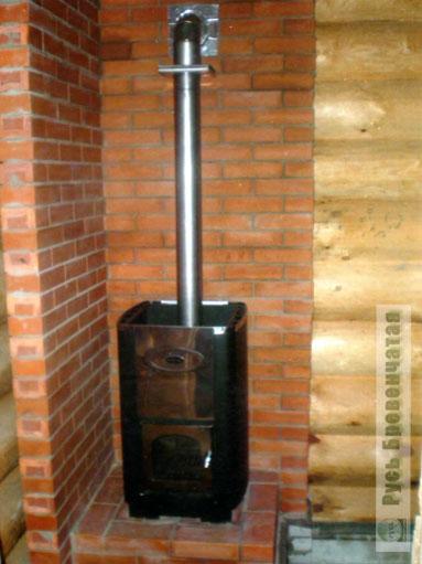 Печь для деревянной бани