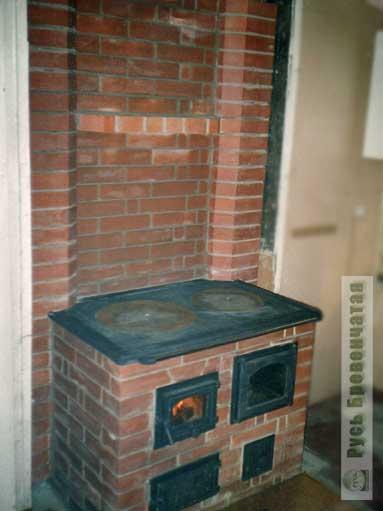 Отопительная варочная печь для дома своими руками