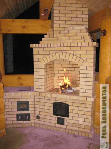 Печка для летней