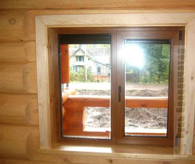 Отделка деревянного дома — фото