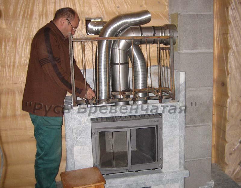 Воздушное отопление: варианты исполнения / Статьи, обзоры