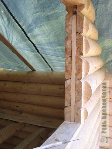 Как сделать проем для окна в деревянном доме