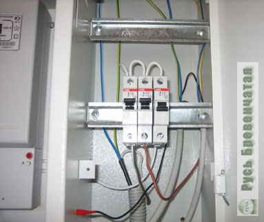 схема электрического щитка в квартире