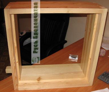 Обсадная коробка - вид снаружи