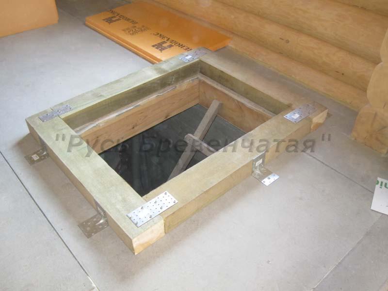 люк утепленный деревянный в полу цена