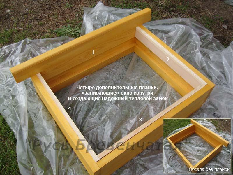 Конструкция обсадной коробки