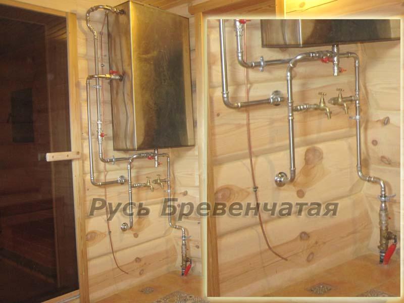 Как правильно сделать водоснабжение для бани
