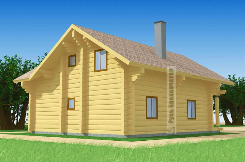 Пример проектов угловых домов и коттеджей
