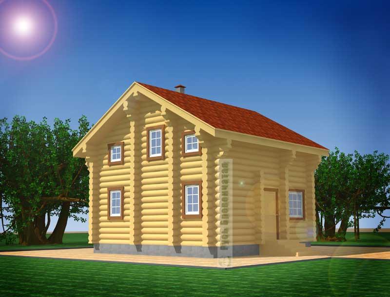 Строительство коттеджей, домов, дач и бань - Remontyorg